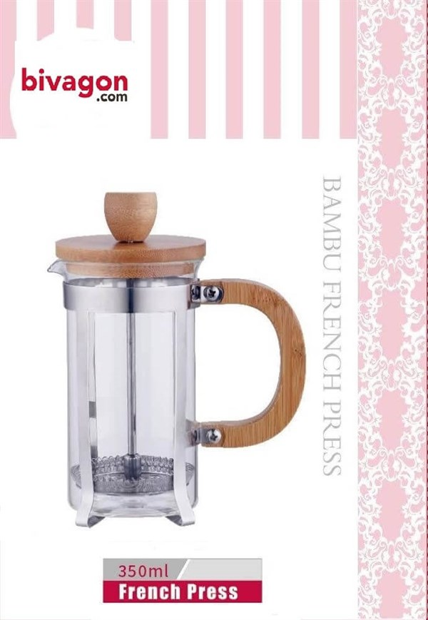 BVG 5027 French Press 350 Ml Bambu